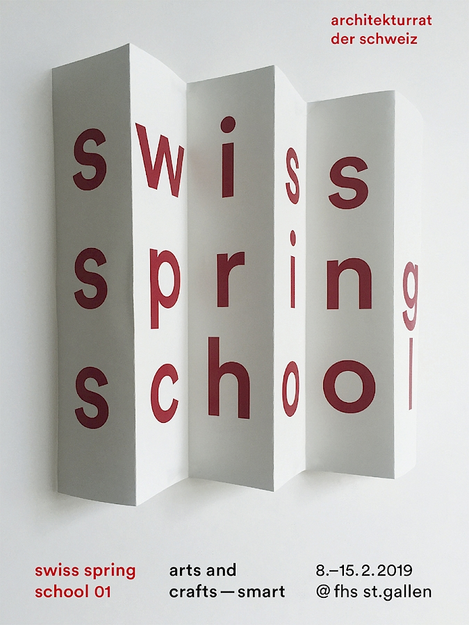 Swiss Spring School 01